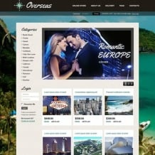 Travel Store VirtueMart Template