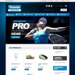 Tennis Magento Theme