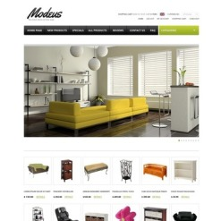 Furniture ZenCart Template