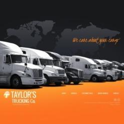 Trucking Flash Template