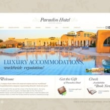 Hotels Flash Template