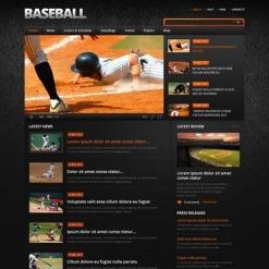 Baseball Website Template