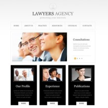 Law Firm Joomla Template