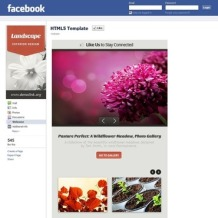 Landscape Design Facebook Template