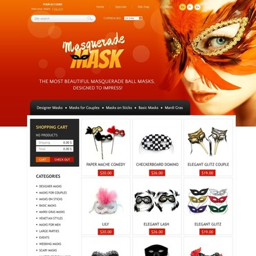 Holiday PrestaShop Theme