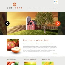Farm Website Template