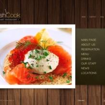 Seafood Restaurant Flash Template