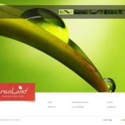 Landscape Design Flash Template