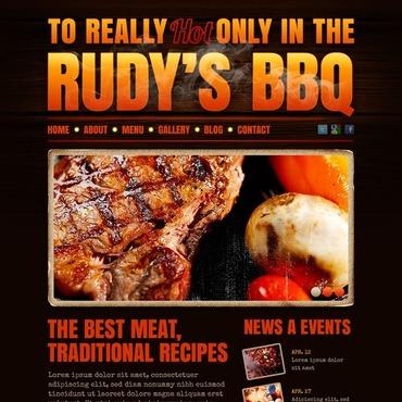BBQ Restaurant Drupal Template