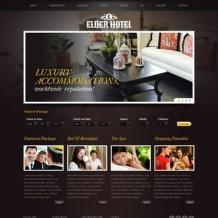 Hotels Website Template