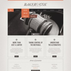 Law Website Template