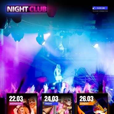 Night Club Facebook Template