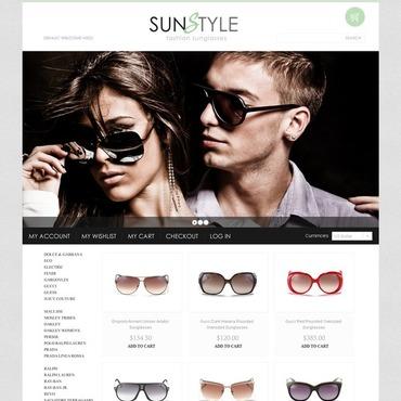 Eye Glasses Magento Theme