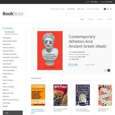Book Store PrestaShop Theme
