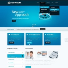 Software Company Drupal Template