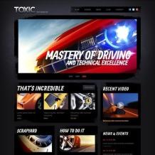 Car Racing Website Template