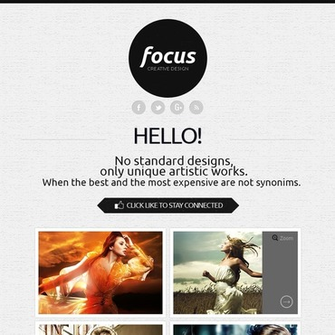 Design Studio Facebook Template