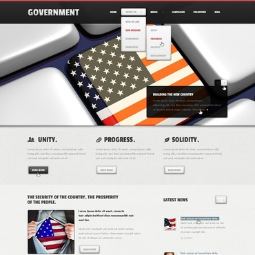 Government Joomla Template