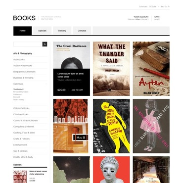 Book Store PrestaShop Theme