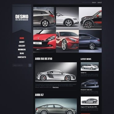 Car WordPress Theme