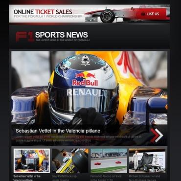Car Racing Facebook Template