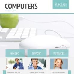 Computer Repair Facebook Template