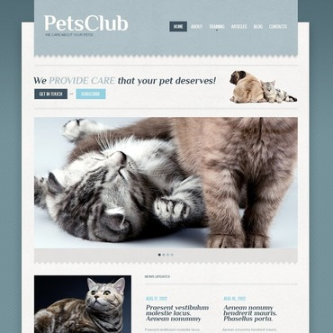 Animals & Pets WordPress Theme