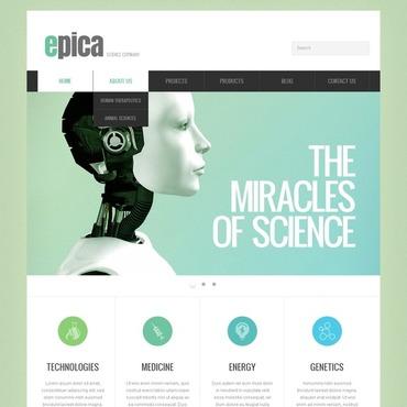 Science Lab Responsive Joomla Template