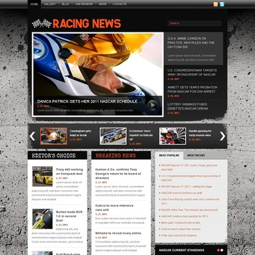 Car Racing Joomla Template