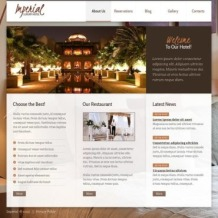 Hotels Facebook HTML CMS Template