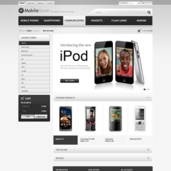 Mobile Store PrestaShop Theme