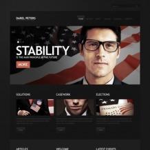 Political Candidate WordPress Theme