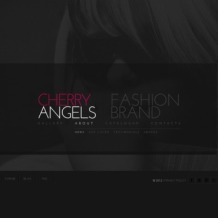 Fashion Facebook Flash CMS Template