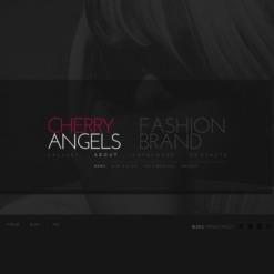 Fashion Facebook Flash CMS Template