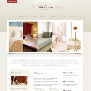 Hotels PSD Template