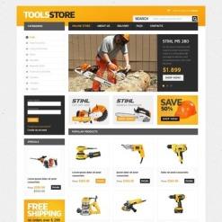 Tools & Equipment VirtueMart Template