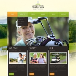Golf WordPress Theme