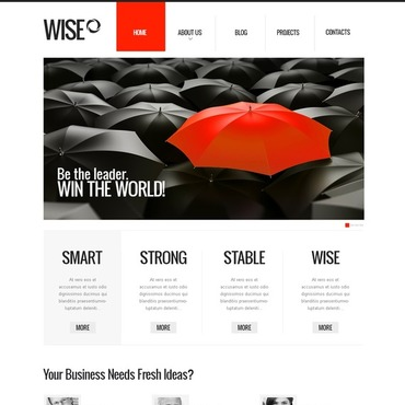 Consulting Responsive Drupal Template