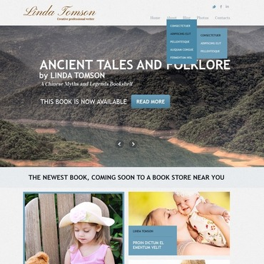 Books Joomla Template