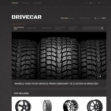 Wheels & Tires PrestaShop Theme