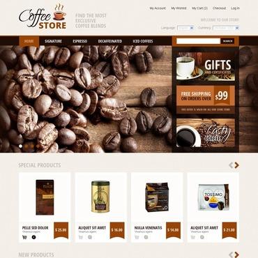 Coffee Supply Magento Theme #42640