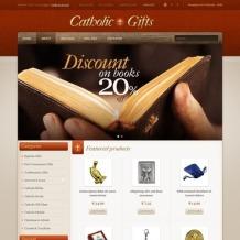 Catholic Church OpenCart Template