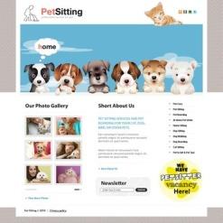 Pet Sitting Flash CMS Template