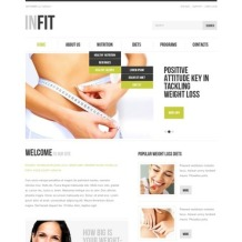 Weight Loss Flash CMS Template