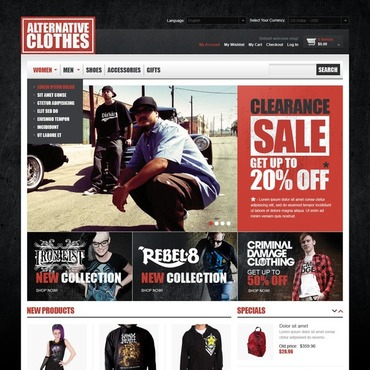 Apparel Magento Theme