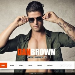 Personal Page Website Template