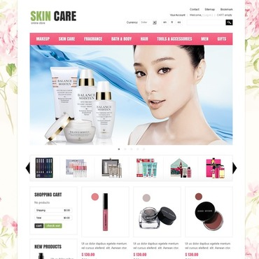 Cosmetics Store PrestaShop Theme