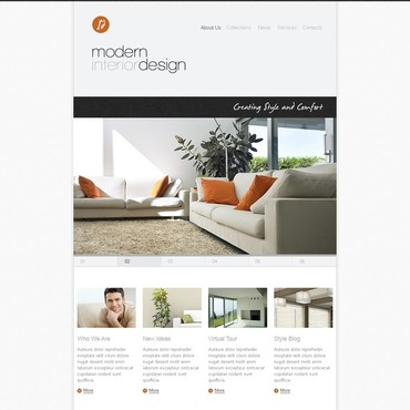 Interior Design Facebook Template