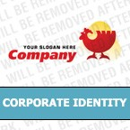 Poultry Farm Corporate Identity Template #4484