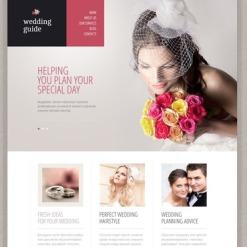 Wedding Planner Responsive Drupal Template